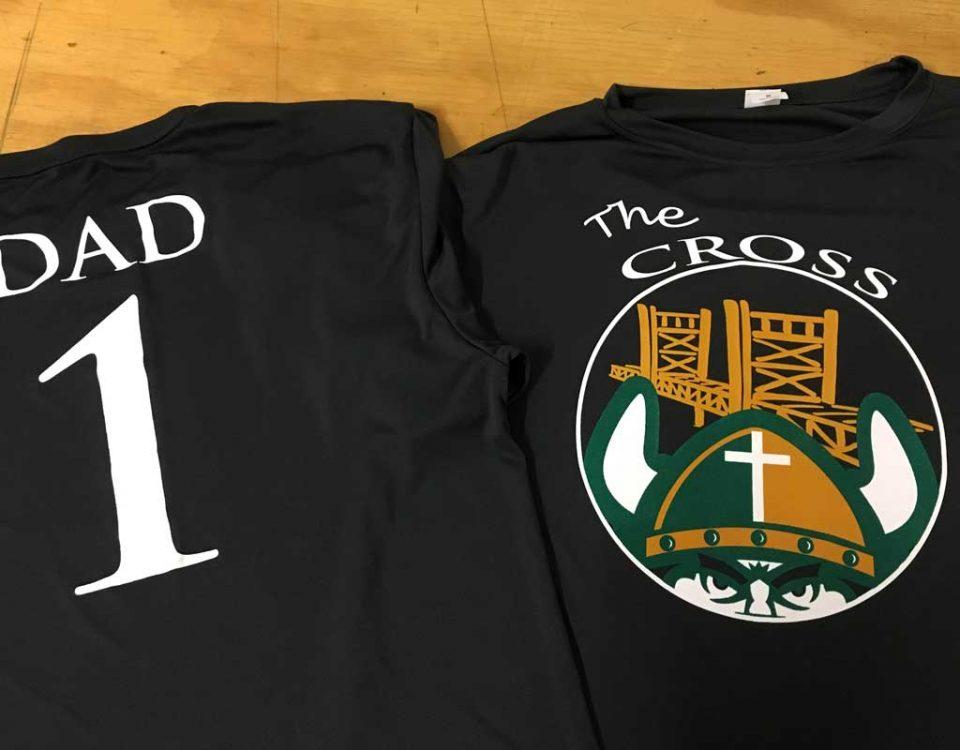 Holy Cross Dad T-shirt