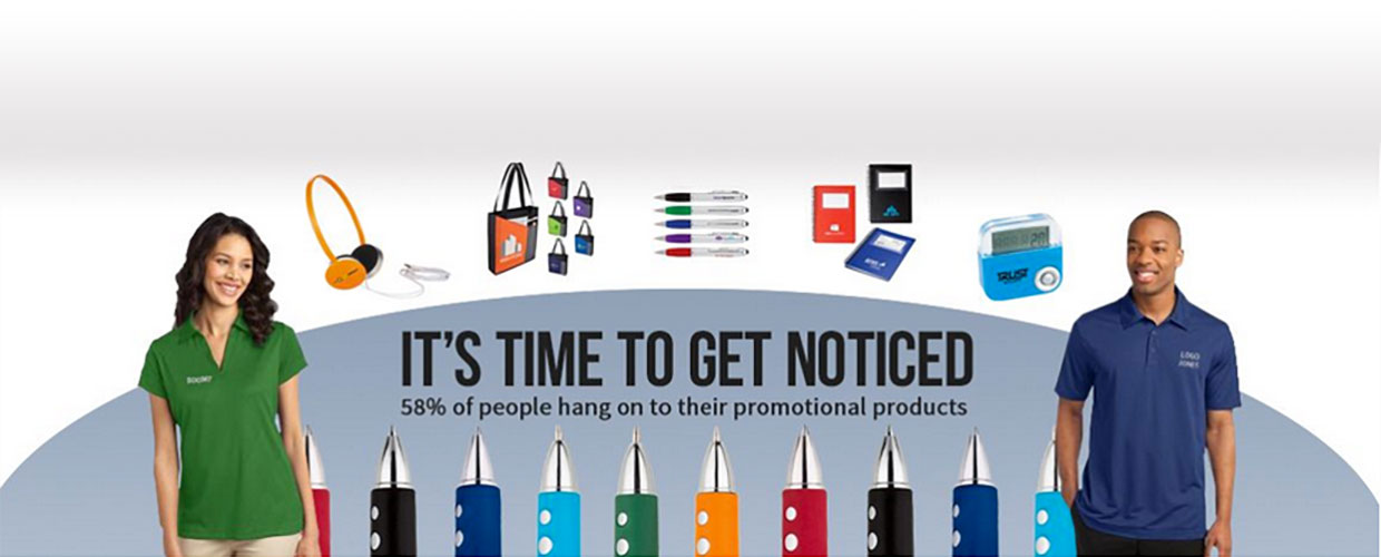 Get Noticed Promotional products