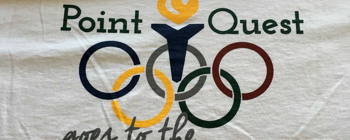 Point Quest Goes to the Olympics T-shirt