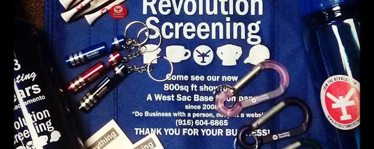 Revolution Screening Promo Products
