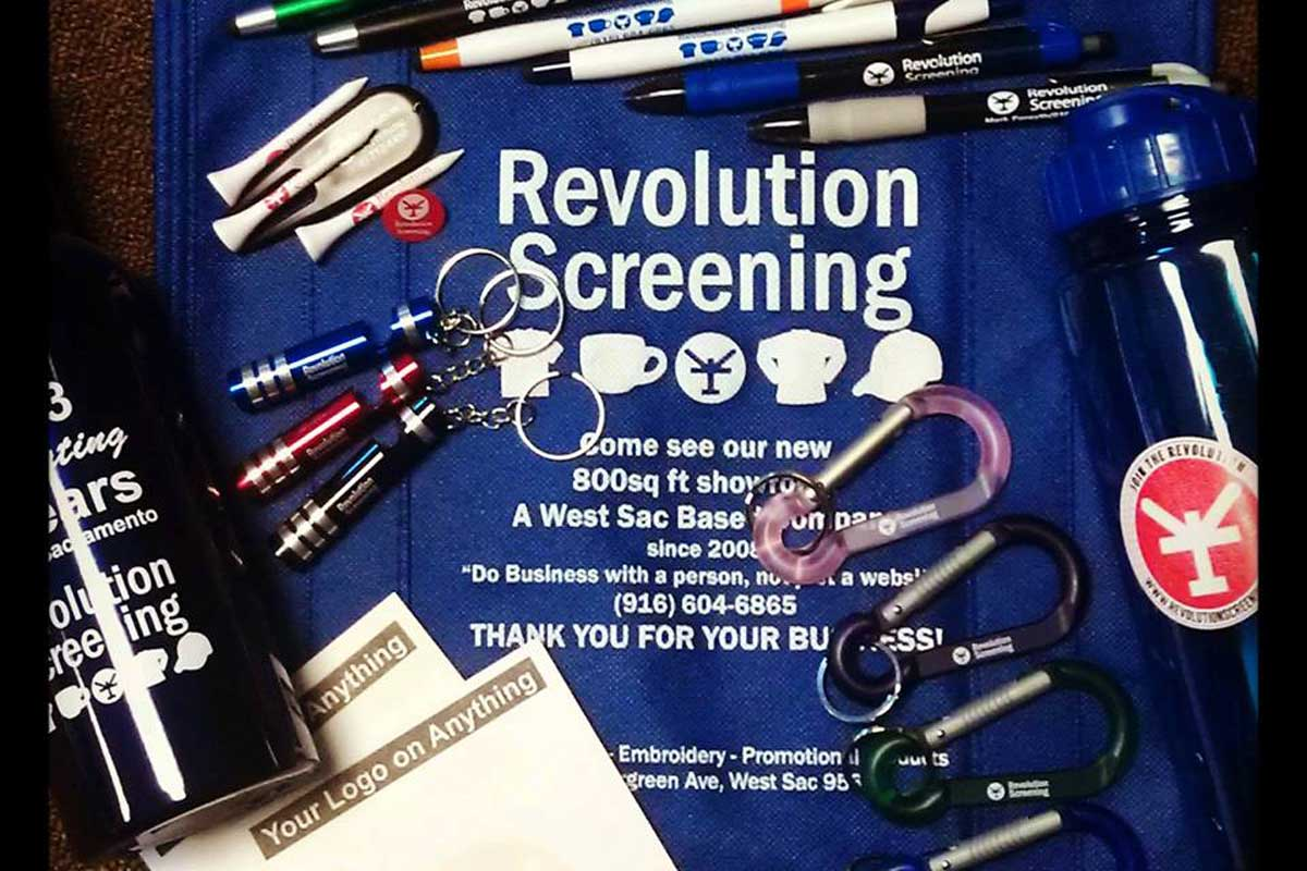 Revolution Screening Promo Products
