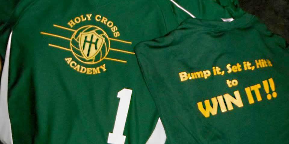 Holy Cross Volleyball Team Uniform